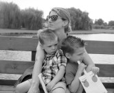 Me and Boys at the Apple Orchard