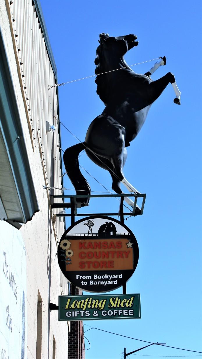 Kansas Country Store Horse
