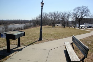 North Esplanade Park in Leavenmworth KS 3