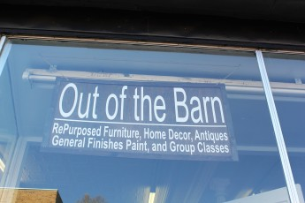 Out of the Barn Sign