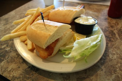 Pullman Fish Sandwich