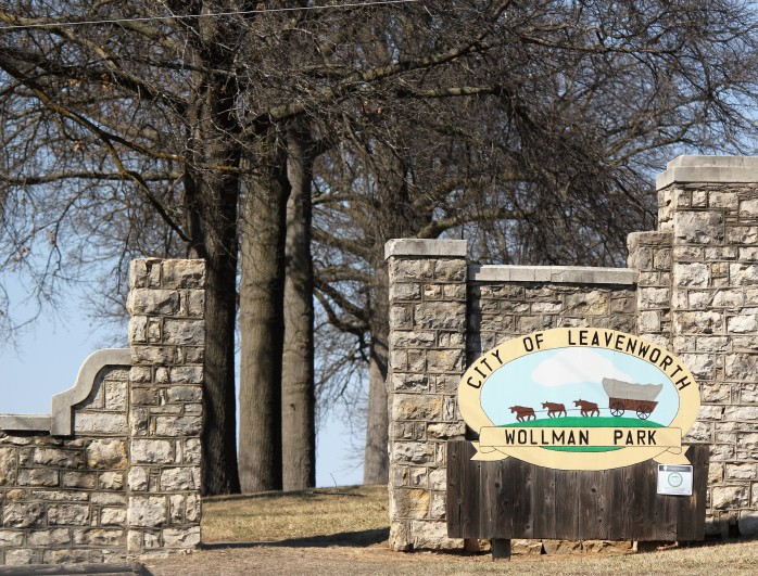 Wollman Park in Leavenworth KS