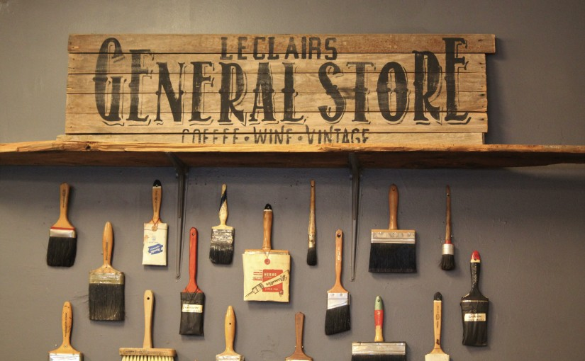 Leclair's General Store: A bright light inHaymount